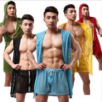 Cotton Men Summer Pajama Set Solid Sold By Set