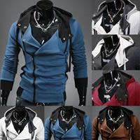 Polyester   Cotton Men Coat skinny   thermal   breathable Solid Sold By PC