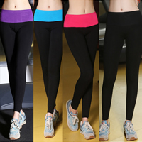 Modal Women Yoga Pants, different size for choice & skinny, stretchable, patchwork, more colors for choice, Sold By PC