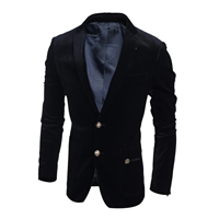 Corduroy Men Leisure Suit Solid Sold By PC