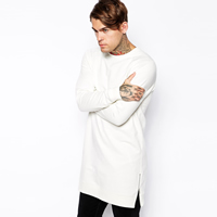 Cotton Men Sweatshirts with Polyester Solid Sold By PC