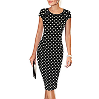 Polyester & Cotton Women Business Dress Suit, different size for choice, printed, different pattern for choice, Sold By PC