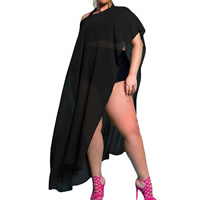Spandex & Polyester Swimming Cover Ups, Solid, more colors for choice, Sold By PC