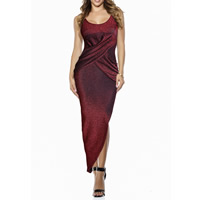 Cotton Asymmetrical Long Evening Dress Solid Sold By PC