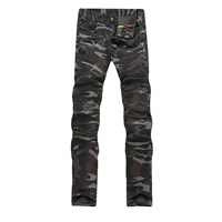 Cotton Men Pencil Pants, different size for choice, printed, camouflage, army green, Sold By PC