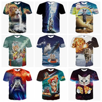 Polyester & Cotton Men Short Sleeve T-Shirt, different size for choice, printed, different color and pattern for choice, Sold By PC