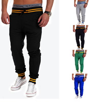 Polyester & Cotton Men Casual Pants, different size for choice, printed, patchwork, more colors for choice, Sold By PC