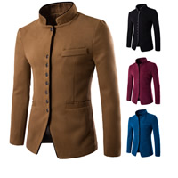 Polyester   Cotton Men Coat Solid Sold By PC