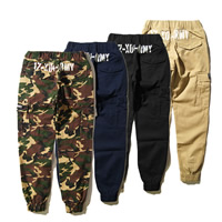 Cotton Men Pencil Pants printed different color and pattern for choice