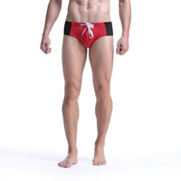 Nylon Men Swimming Brief, different size for choice, patchwork, more colors for choice, Sold By PC