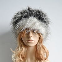 Fake Fur Army Cap, different styles for choice, Sold By PC