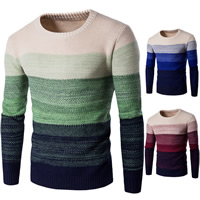 Cotton Men Sweater, different size for choice & thermal, knitted, patchwork, more colors for choice, Sold By PC