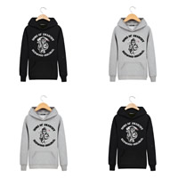 Cotton Men Sweatshirts printed skull pattern