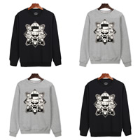 Cotton Men Sweatshirts, different size for choice, printed, character pattern, more colors for choice, Sold By PC