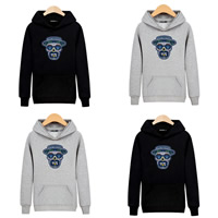 Cotton Men Sweatshirts printed skull pattern Sold By PC