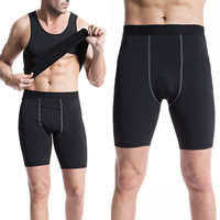 Spandex   Polyester Men Quick Dry Pants Solid Sold By PC