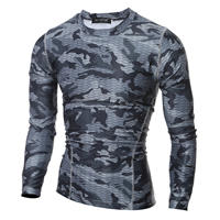 Milk Silk Men Quick Dry Tops, different size for choice, printed, camouflage, more colors for choice, Sold By PC