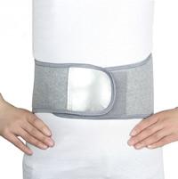 Bamboo Charcoal Fiber Men Waist Belt Solid grey Sold By PC