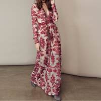Cotton Beach Dress, different size for choice, with Gauze, embroidered, floral, more colors for choice, Sold By PC