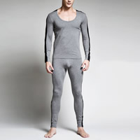 Cotton Men Thermal Underwear Sets, different size for choice, patchwork, more colors for choice, Sold By Set