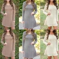 Woolen Women Sweater Solid 2PCs/Lot