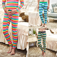 Nylon & Cotton Men Thermal Long Johns breathable printed striped Sold By PC