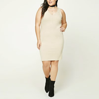 Polyester   Cotton Plus Size Sexy Package Hip Dresses skirt   teddy Solid