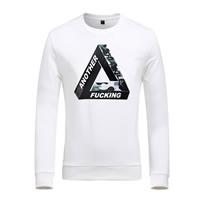 Viscose   Polyester Plus Size Men Long Sleeve T-shirt loose printed letter