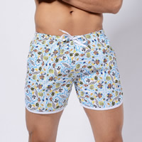Polyester Swimming Trunks printed different color and pattern for choice Sold By PC