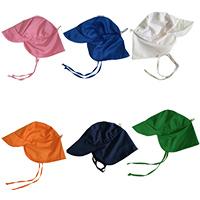 Algodón Sombrero de sol al aire libre,  Algodón, teñido de manera simple, Sólido, más colores para elegir,  trozo