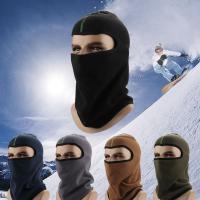 Polar Fleece Fleeces Mask Headgear thermal Solid Sold By PC