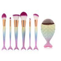 Plastic & Nylon Makeup Tools Set patchwork Sold By Set