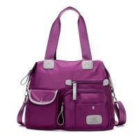 Oxford Handbag mom bag & waterproof & One Shoulder Solid Sold By PC