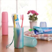 Kunststoff Zahnbürsten-Box, Solide, mehr Farben zur Auswahl, :,  Stück