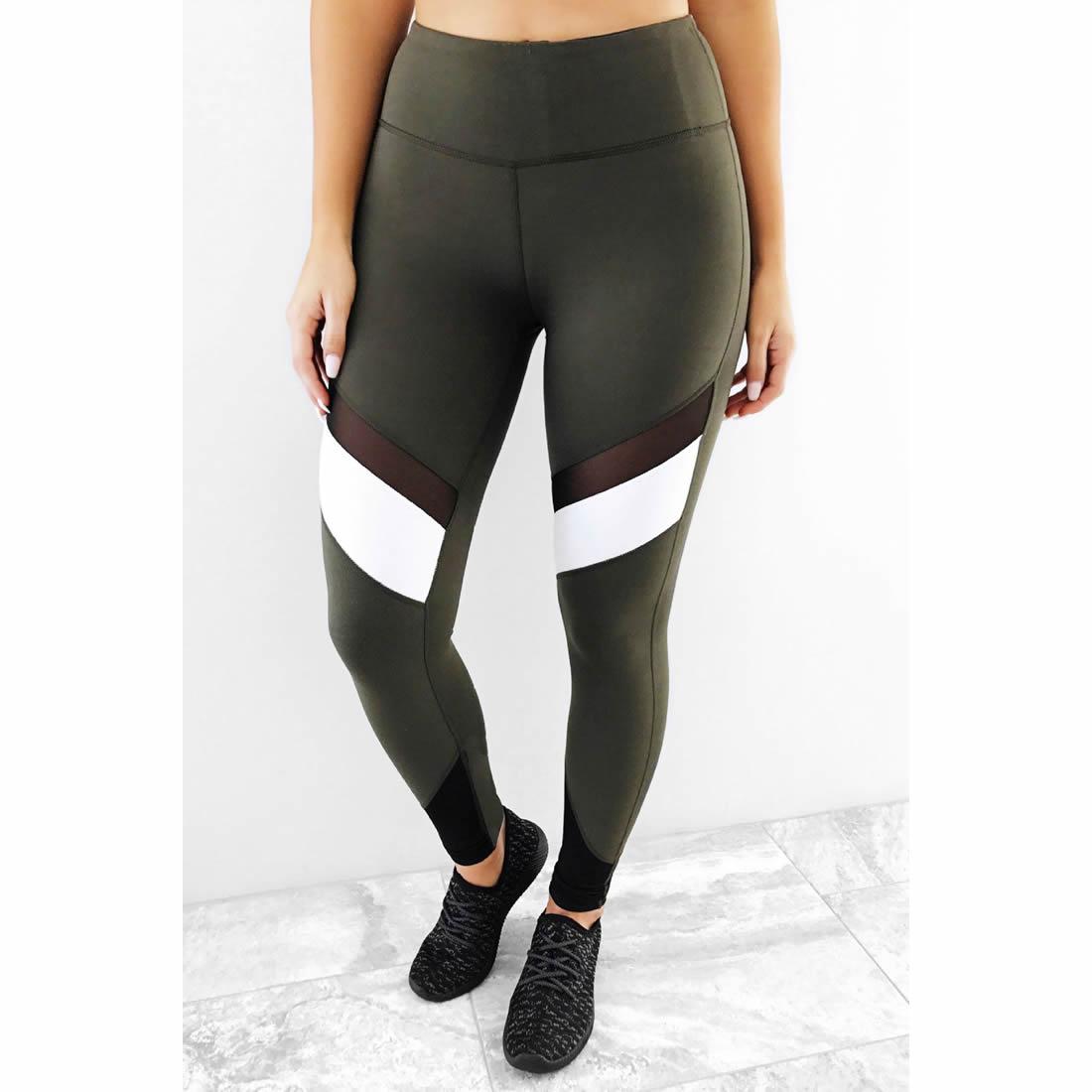 Spandex & Polyester Women Yoga Pants & transparent ...