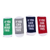 Cotton Size 37-42 Unisex & In Tube Socks Unisex Ankle Socks letter Sold By Pair