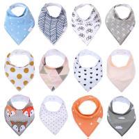 Cotton Soft & Antifouling Baby Bib waterproof Sold By PC
