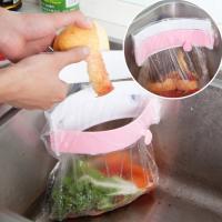 Plastic Trash Bag Towel Holder random color Solid Sold By PC