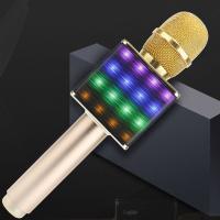 Aludur Micrófono con altavoz BlueTooth, chapado, Sólido, más colores para elegir,  trozo
