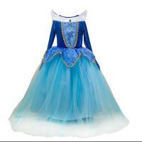 Polyester Meisje Eendelige jurk Polyester Lappendeken Solide meer kleuren naar keuze stuk