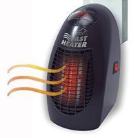 El plastico Mini máquina de aire caliente,  El plastico, negro,  trozo